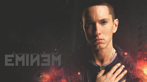 EMINEM wallpaper containing a fire and a fire titled Eminem