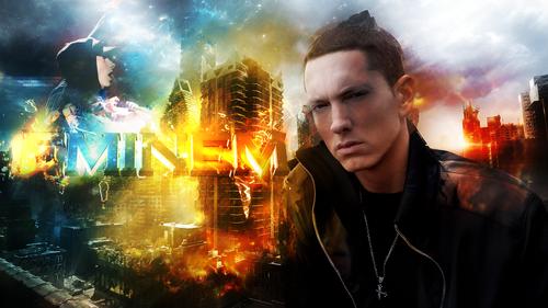 Eminem wallpaper possibly with a concerto called Eminem