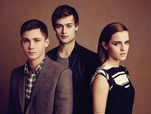Emma,Logan Lerman and Douglas Booth
