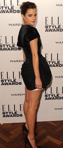 Emma Watson wolpeyper possibly with bare legs and mainit na pantalon titled Emma Watson
