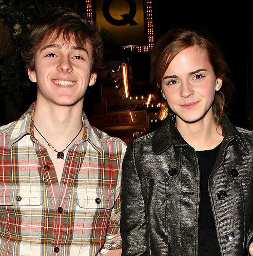 Emma and her brother,Alex