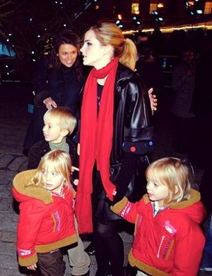 Emma and her twin sisters