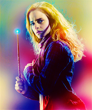 Emma as Hermione