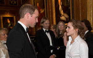 Emma meeting Prince Wiliam