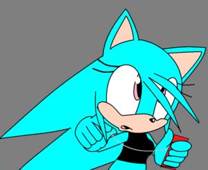 Emma the hedgehog (dusan's girlfriend)