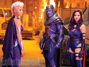 Entertainment Weekly's Look at Storm, Apocalypse, and Psylocke