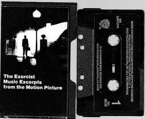 Exorcist Cassette Tape