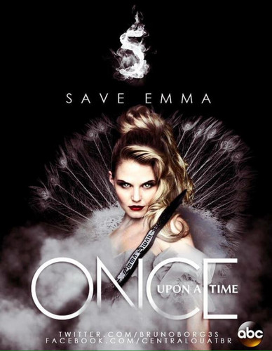 Once Upon A Time fond d'écran with a portrait titled fan Maid Season 5 Poster