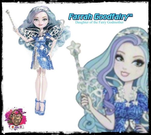 Ever After High wallpaper containing Anime entitled Farrah Goodfairy