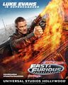 Fast and Furious: Supercharged Poster - Luke Evans