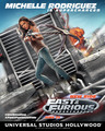 Fast and Furious: Supercharged Poster - Michelle Rodriguez - michelle-rodriguez photo