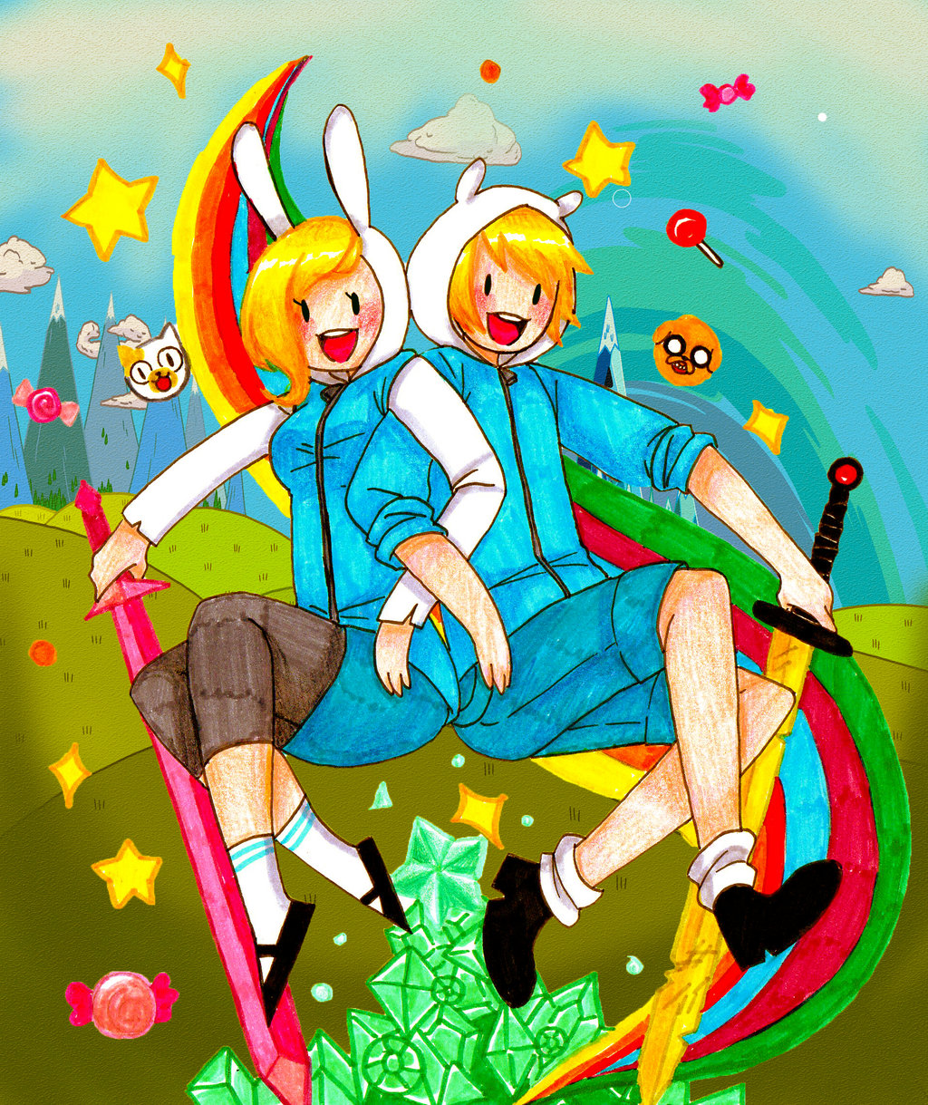 Fionna (Adventure Time with Finn and Jake) by Emmitz