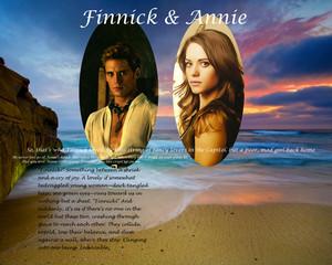 Finnick/Annie پیپر وال