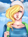Fionna the Human - adventure-time-with-finn-and-jake fan art