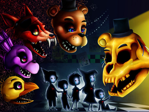 Five Nights at Freddy's (Пять ночей с Фредди) Обои titled Five nights at freddy