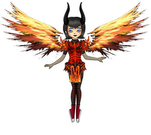 Flaming Armor Mavis