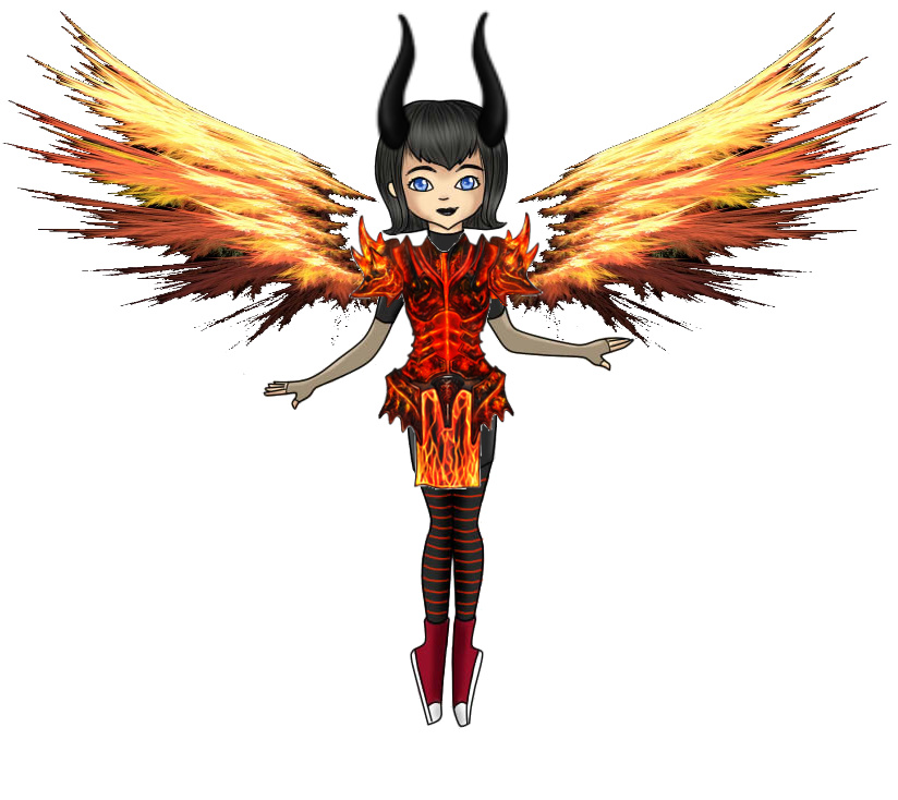 Flaming Armor Mavis