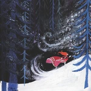 Frozen - Uma Aventura Congelante Concept Art - Anna Visual Development