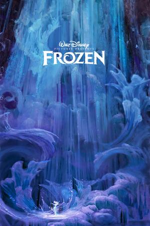 アナと雪の女王 Concept Art Poster