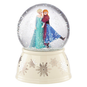 Frozen - Elsa and Anna Musical Snow Globe
