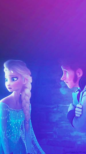 Frozen Phone Hintergrund