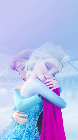 アナと雪の女王 Phone 壁紙