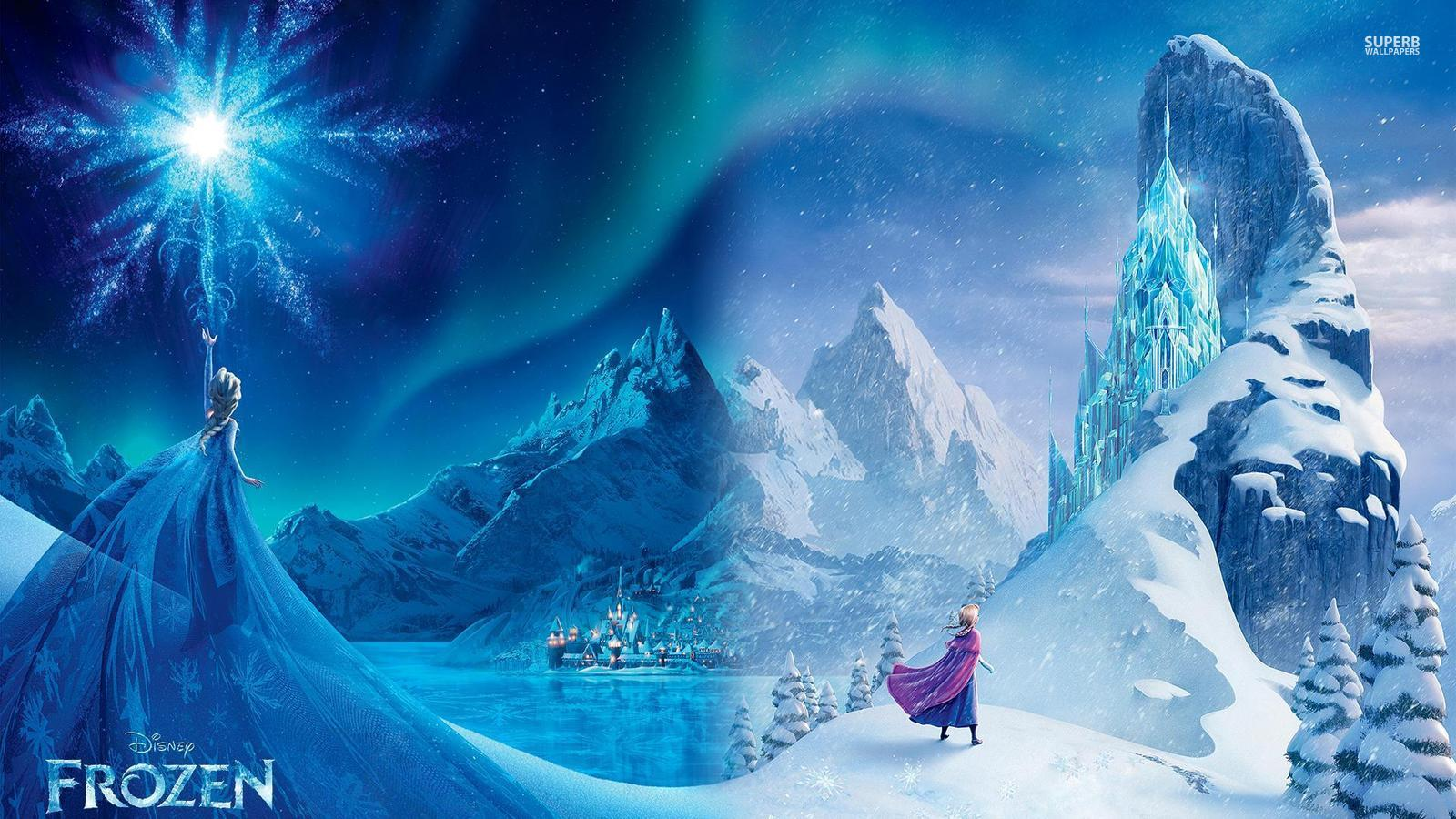 frozen elsa and anna wallpaper 38676611 fanpop