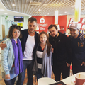 Gemma Whelan, Tom Wlaschiha, John Bradley and Jacob Anderson @ Belfast - game-of-thrones photo