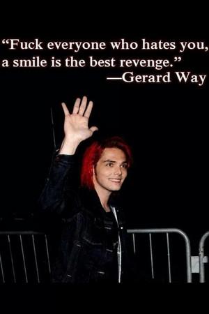 Gerard Way mga panipi