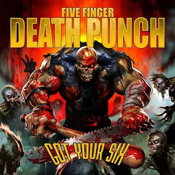 Five Finger Death Punch Wallpaper With Anime Called Got Your Six
