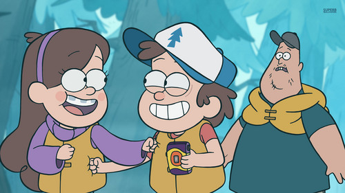 disney fondo de pantalla possibly with anime called Gravity Falls