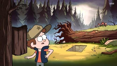 디퍼와 메이블의 미스테리 모험 바탕화면 called Gravity Falls