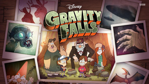 gravity falls fondo de pantalla possibly with a sign and anime called Gravity Falls