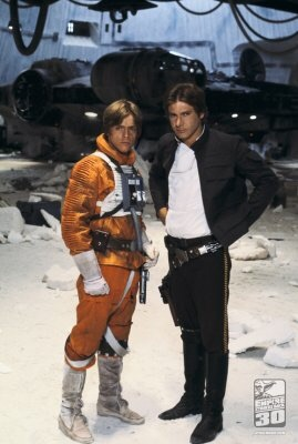 Han Solo and Luke