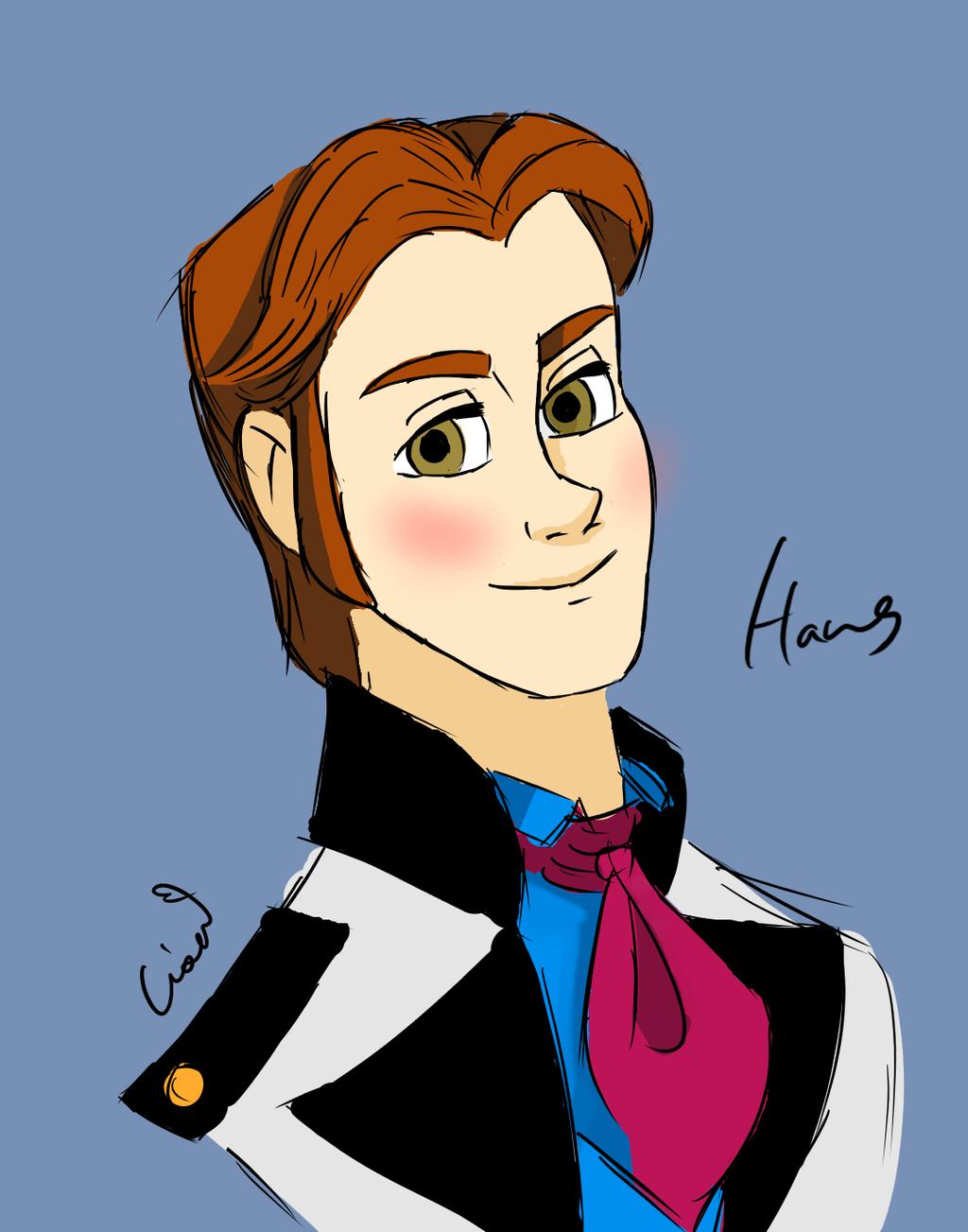 Hans - Frozen Fan Art (38610622) - Fanpop