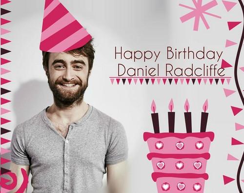 daniel radcliffe fondo de pantalla titled Happy Birthday Again Daniel Radcliffe (Fb.com/DanieljacobRadcliffeFanClub)