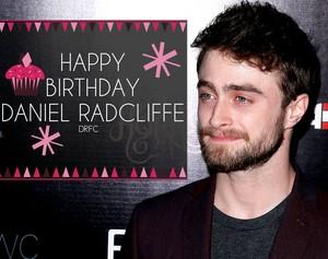 Happy Birthday Daniel Radcliffe (Fb.com/DanielJacobRadcliffeFanClub)