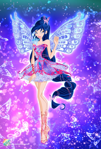 The Winx Club wallpaper entitled Harmonic Melody