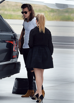 Harry At the airport in van Nuys