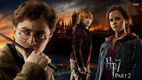 Harry Potter wallpaper possibly with a concert called Harry Potter and the Deathly Hallows