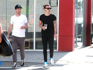 Harry out in Los Angeles