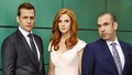 suits - Harvey, Donna, Louis wallpaper