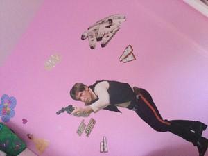 He's on my wall!