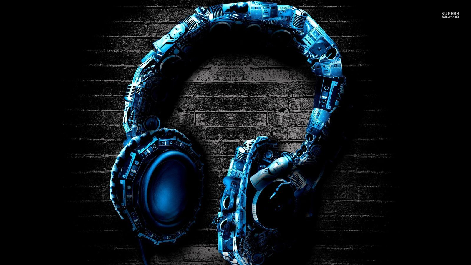 Headphones - Music Wallpaper (38680076) - Fanpop