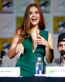 Holland Roden during the MTV Teen Wolf panel at SDCC.  - holland-roden photo