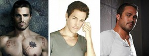 Hot guys from TV