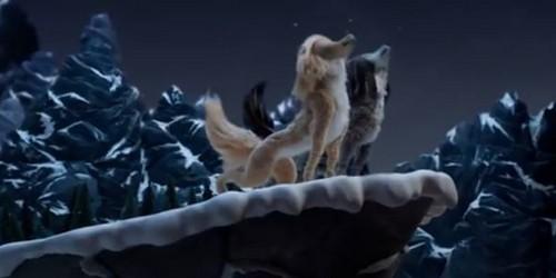 Alpha und Omega Hintergrund called Howling