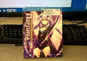 HyperDimension Neptunia DVD Blu Ray Box Set