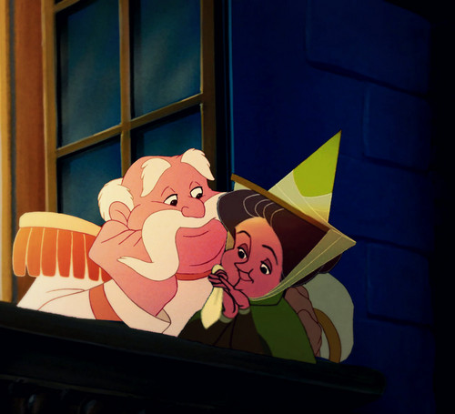 डिज़्नी क्रॉसोवर वॉलपेपर called I just प्यार Happy Endings