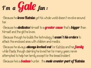 I'm a Gale peminat :